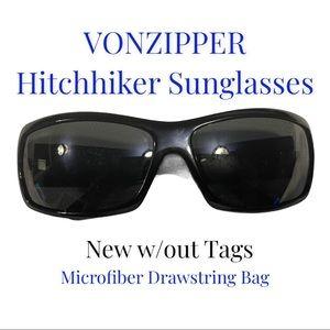 Von Zipper Hitchhiker Sunglasses Black/Black
